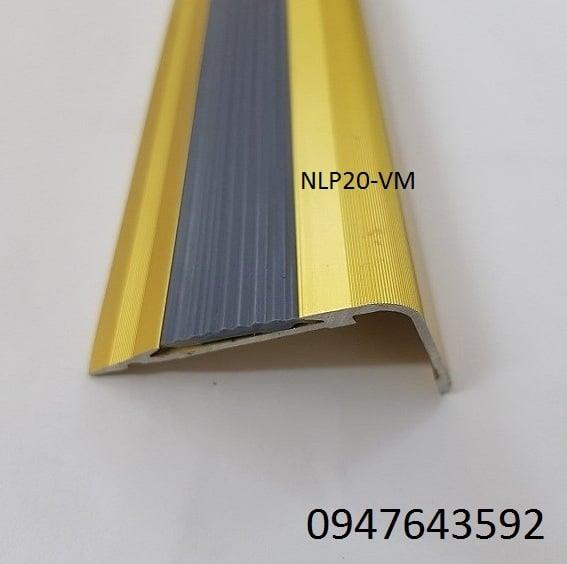 Nẹp chống trơn NLP20 màu vàng mờ