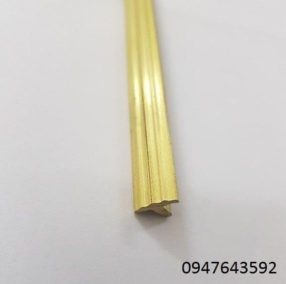 nẹp đồng T10 gân , nẹp đồng chống trơn