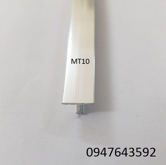 Nẹp chữ T 10mm màu inox