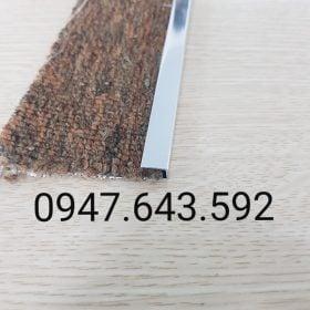 Nẹp chặn thảm màu inox