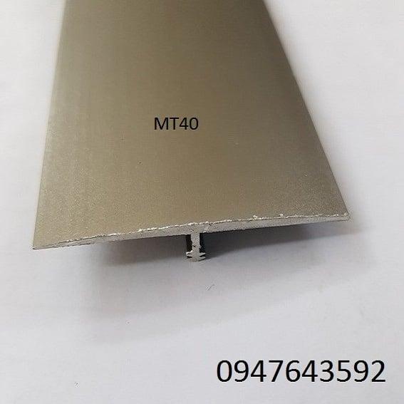 Nẹp nhôm chữ t MT40